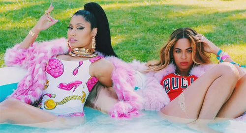 "NICKI MINAJ FEAT BEYONCÉ ""FEELING MYSELF"""