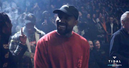 "Kanye West Pics ""Yeezy Season 3"" Album (Live)"