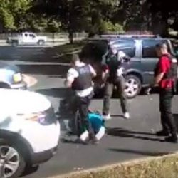Video of Keith Scott Wife Watching Her Husband Get Killed