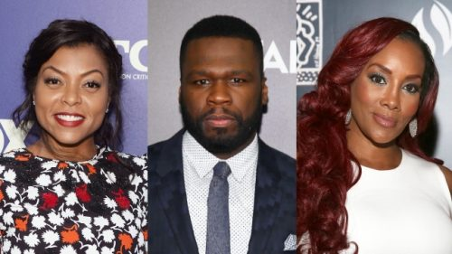 Vivica Fox & Taraj Proves Something to Rapper 50 Cent