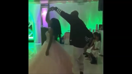 DMX Dances With Daughter Sasha For Her Quinceanera