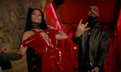 "Nicki Minaj FT. Drake, Lil Wayne ""No Frauds"" Video"