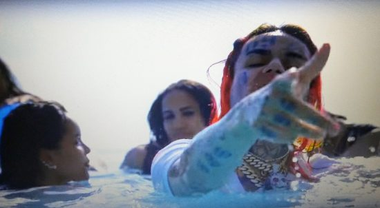 "6IX9INE Blesses The Poor in ""Gotti"" Music Video"